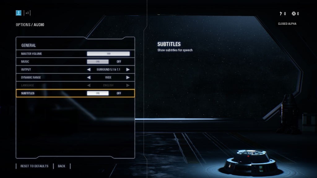 Star Wars Battlefront II Graphical Settings Same As The First Game?