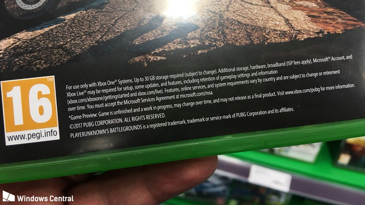 Playerunknown S Battlegrounds For Xbox Controls Revealed: PUBG Xbox One X Install Size Requirement Is Up To 30 GB