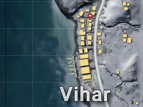 vihar-garage-vikendi-location