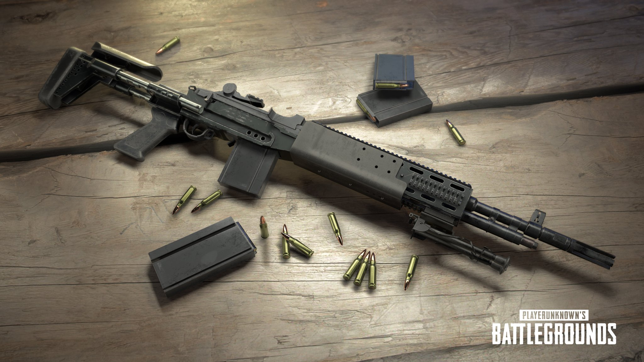 2 New Weapons Coming To Playerunknown S Battlegrounds: Mk14 EBR Rifle Revealed For PlayerUnknown's Battlegrounds
