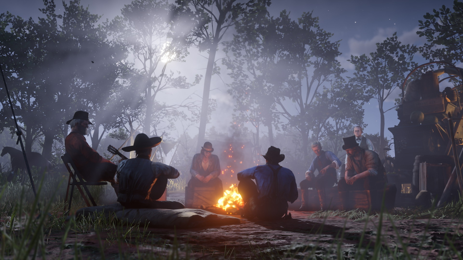 Red Dead Redemption 2 Camp Screenshot