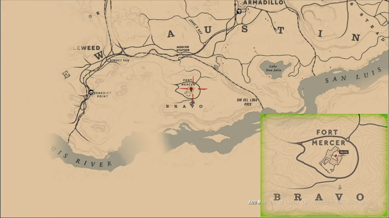 Red Dead Redemption 2 Gang Hideout Locations With Map Image Gamepur