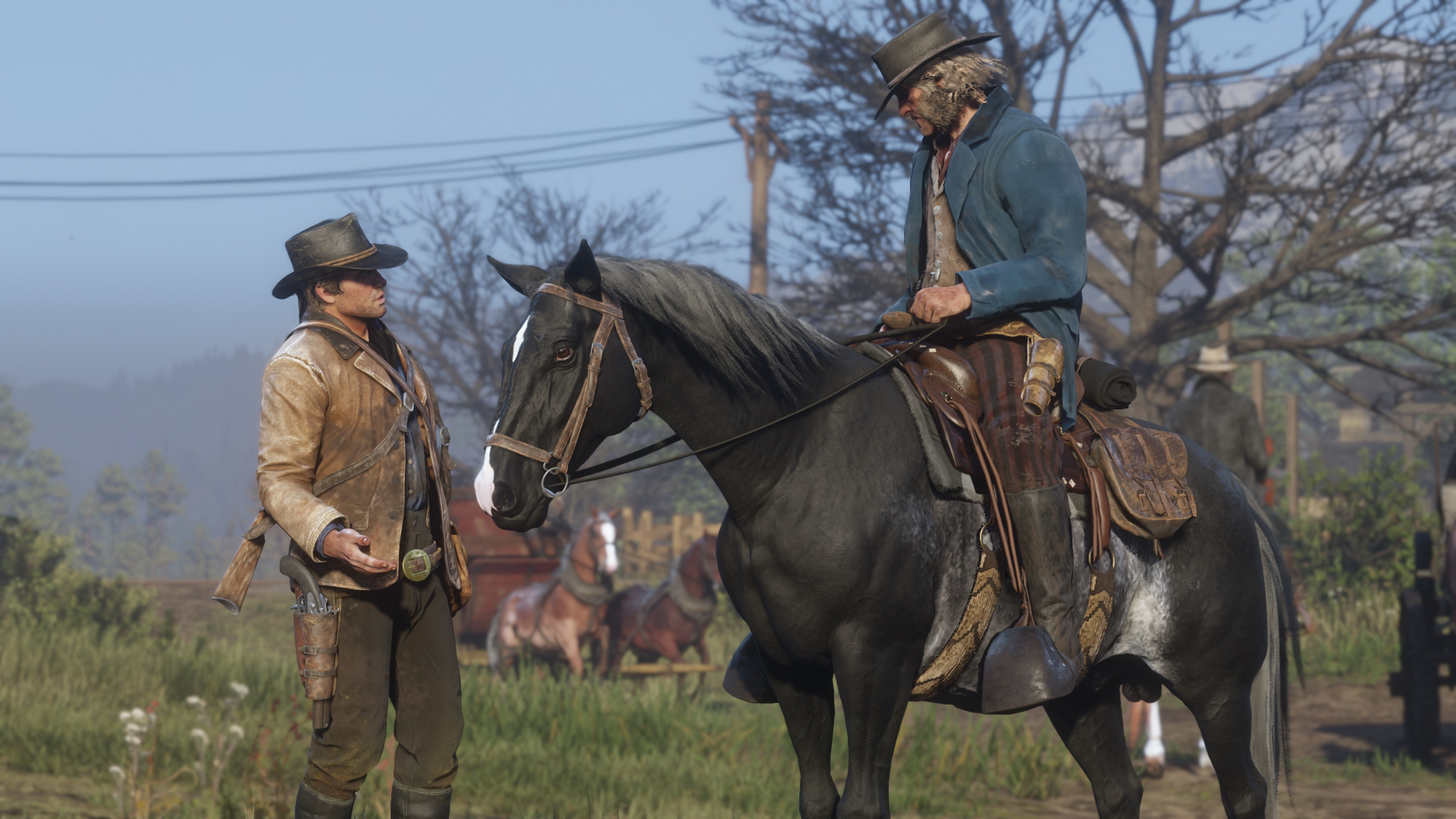 Red Dead Redemption 2 Horse Guide How To Saddle Whistle To Call