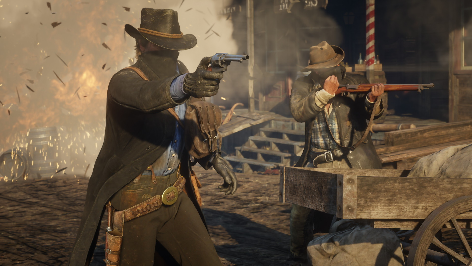 Red Dead Redemption 2: Robbery And Killing