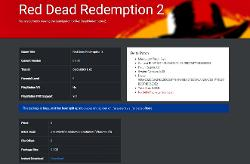Red Dead Redemption 2 Day One Patch Size Confirmation