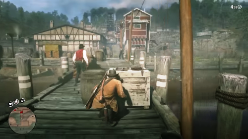 dock-fight-pinkertons