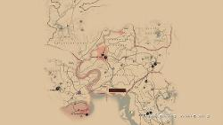 Red Dead Redemption Us Map.Red Dead Redemption 2 In Game Map 23 Seconds Gameplay And
