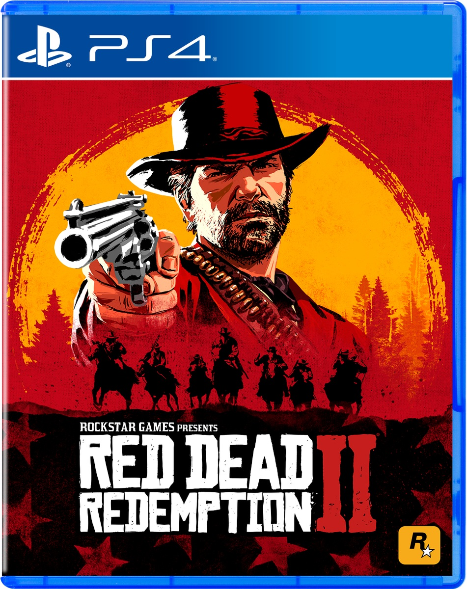 Red Dead Redemption II Final Box Art [PS4]