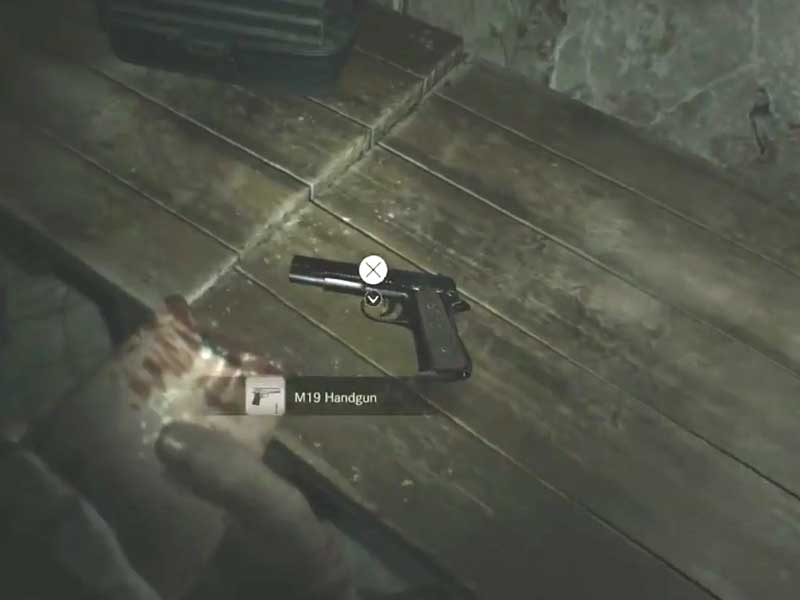 Resident Evil 7 Biohazard All Weapons Locations And Their