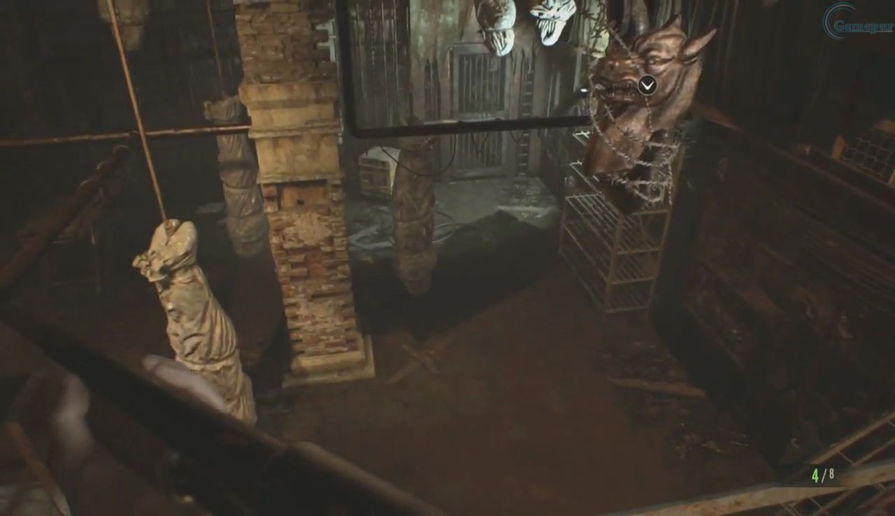 Getting All The Dog Heads Resident Evil  Trick