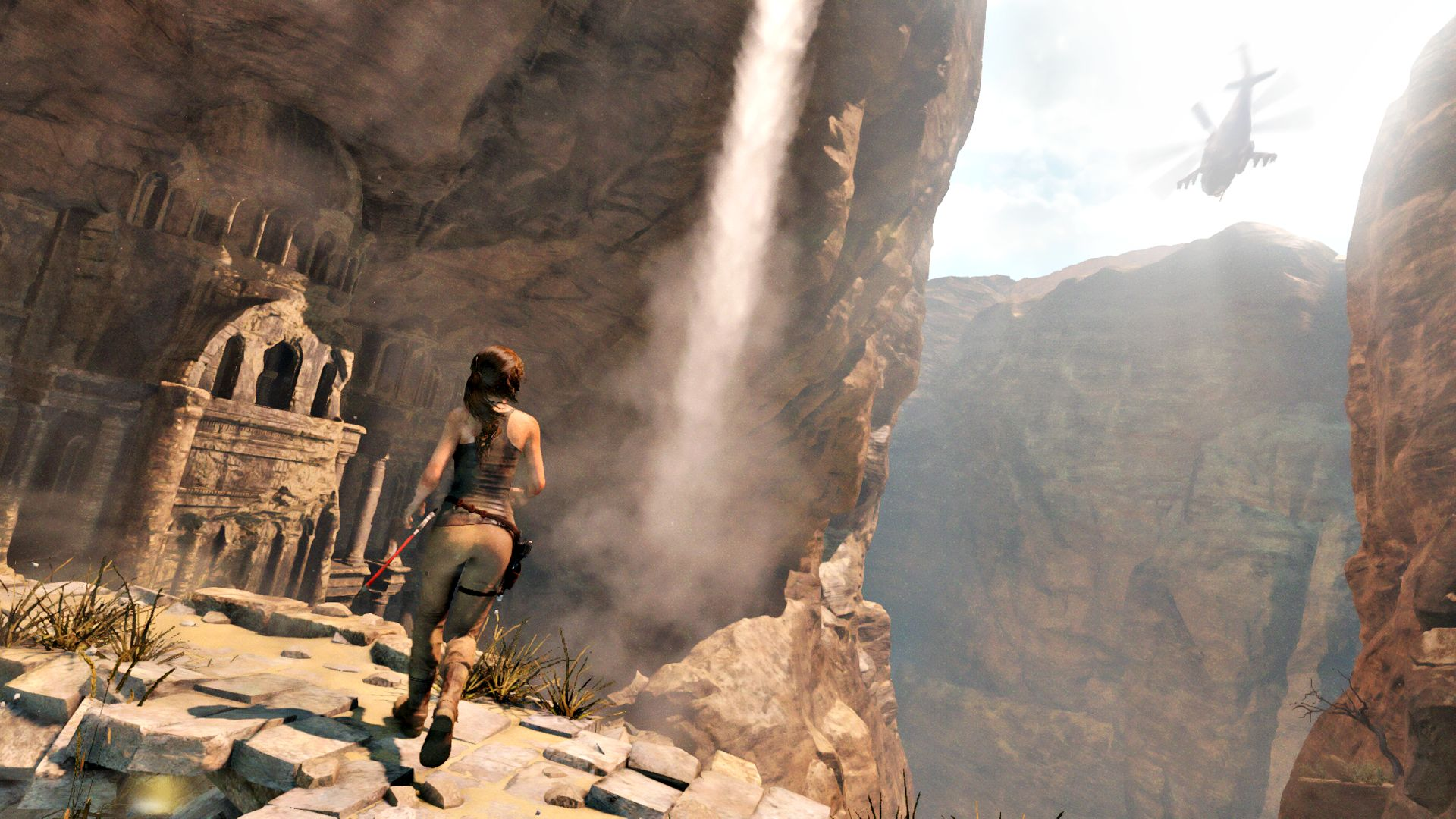 New Rise of the Tomb Raider 1080p Xbox One Screenshots Show Deadly