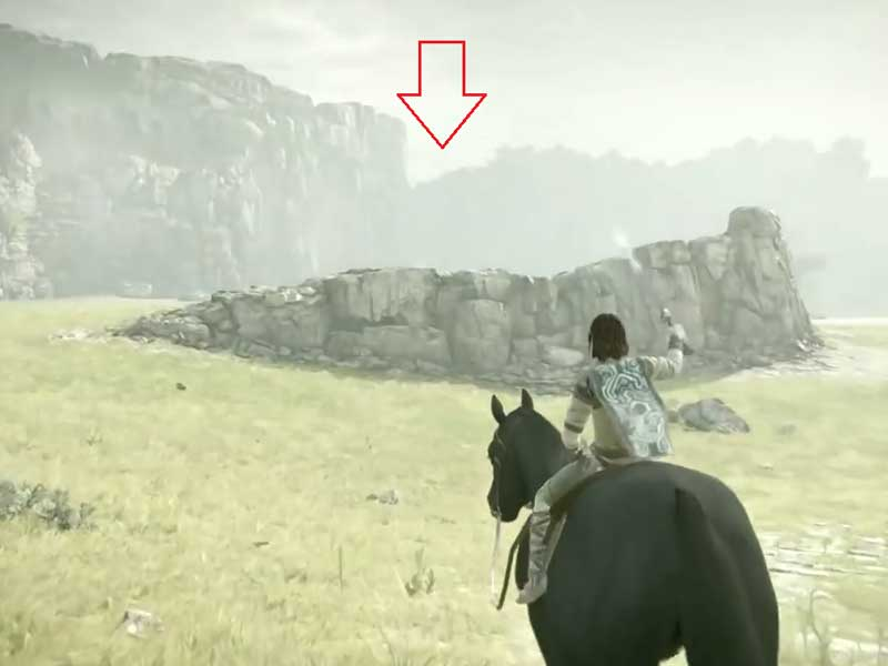 Shadow of the Colossus boss maps and locations
