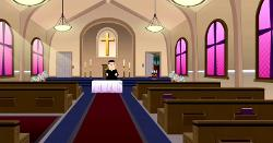 Church Back Room Door - South Park The Fractured But Whole