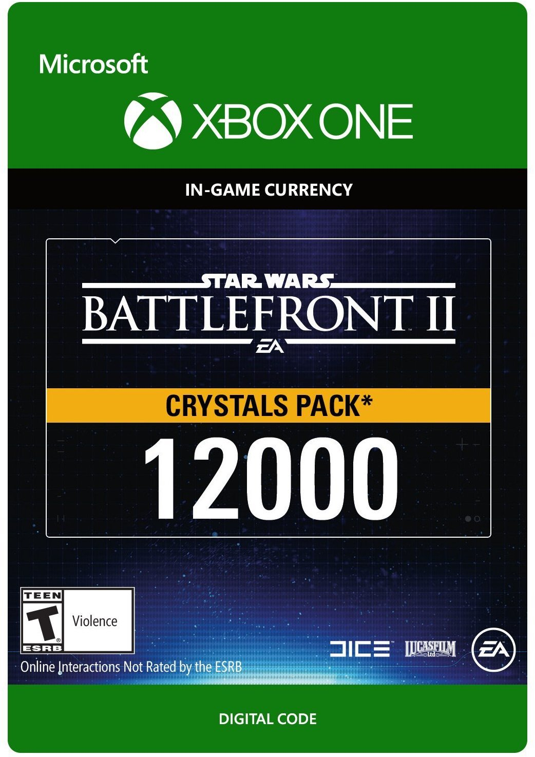 Star Wars: Battlefront II Crystals Currency Listing