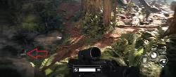 Mission 1 The Battle of Endor Hidden Item 6 Location