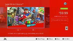 Super Mario Odyssey Pre-load Screenshot