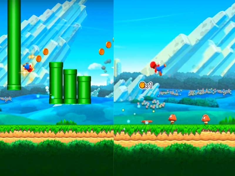 Super Mario Run Movements
