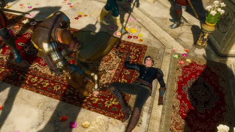 witcher 3 how to get good ending