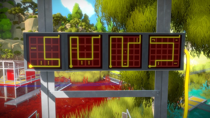 The Witness Walkthrough Part 10 Swamp Submerged Rooms