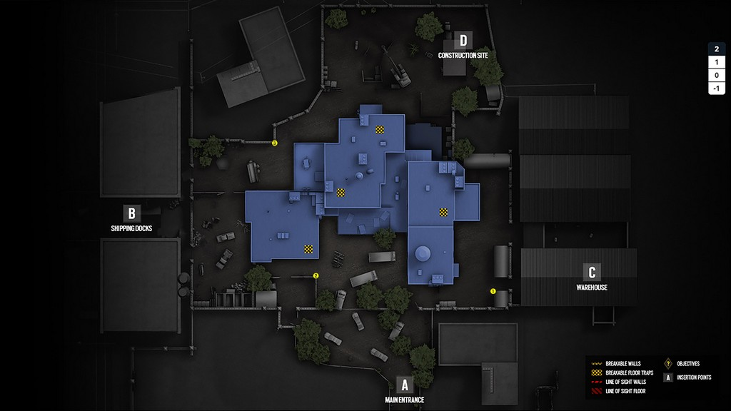 maps camera locations and tactical board tactical gamer