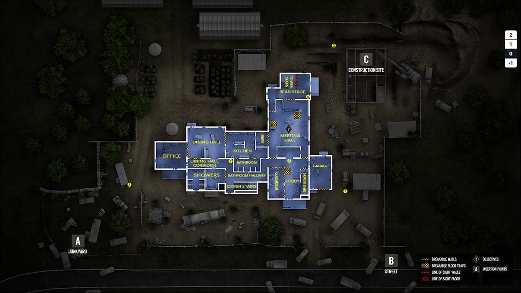 21546 Tom Clancys Rainbow Six Siege Where Are All Callouts And Camera Locations on house blueprints