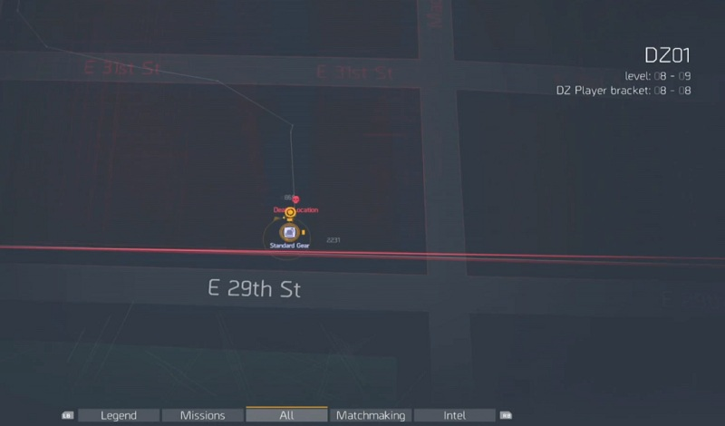 The Division Where To Find The Dark Zone Chest Location Guide