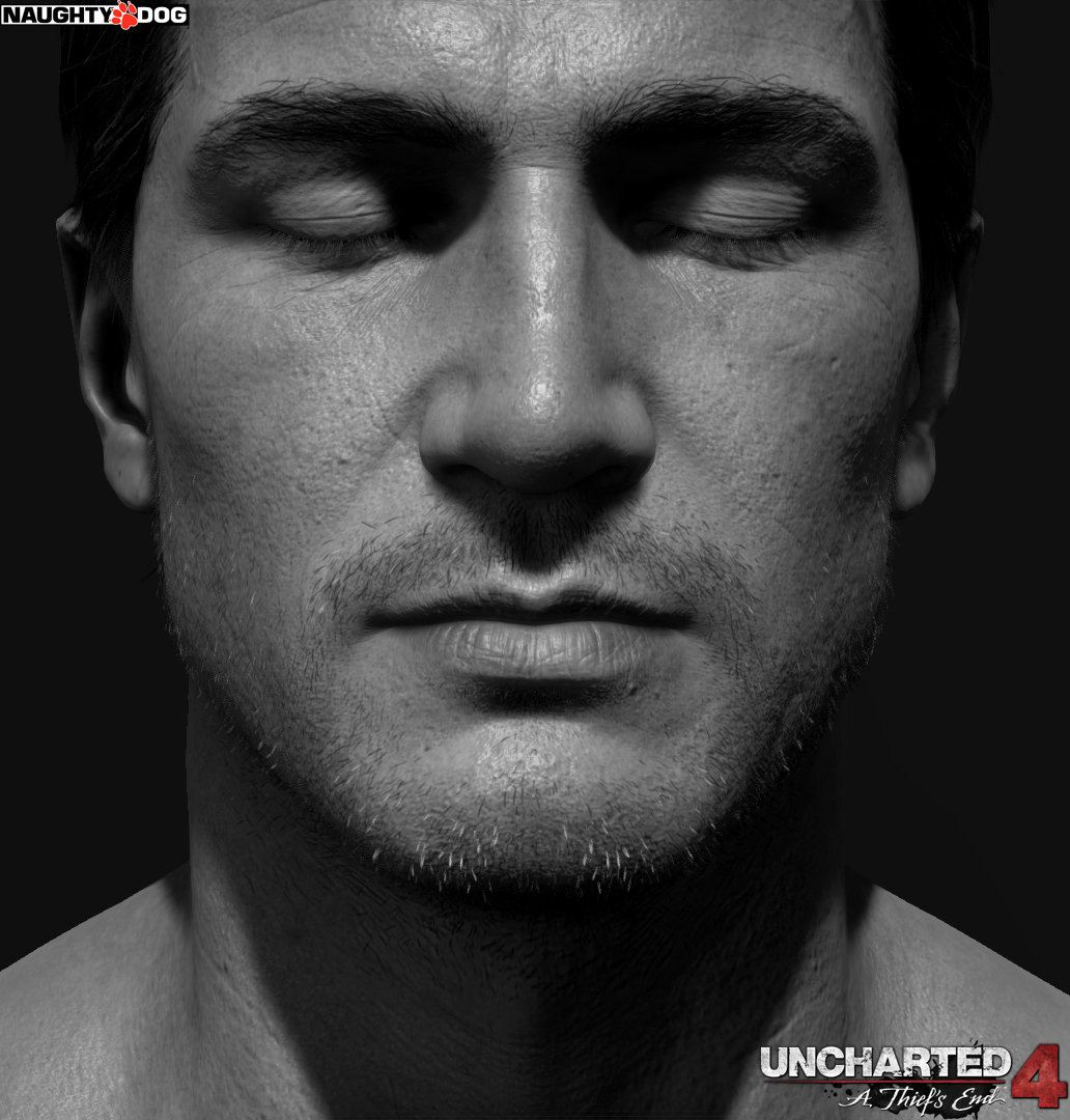 Uncharted 4: A Thief's End Hi-Res Drake Character Mode Screenshot