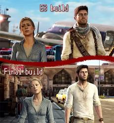 Uncharted 3 Retail vs E3 Build Comparison