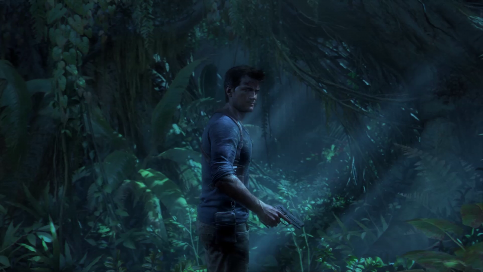 uncharted 4 a thief 39 s end comparison screens show ps4. Black Bedroom Furniture Sets. Home Design Ideas