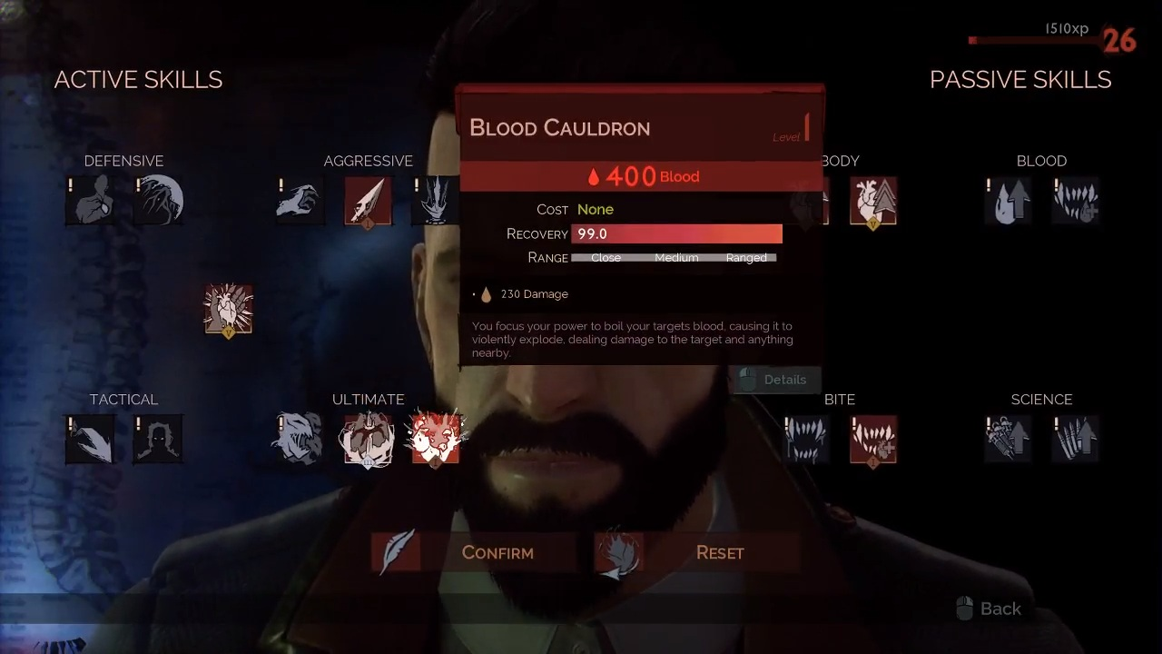 Vampyr Ultimate Skill Guide