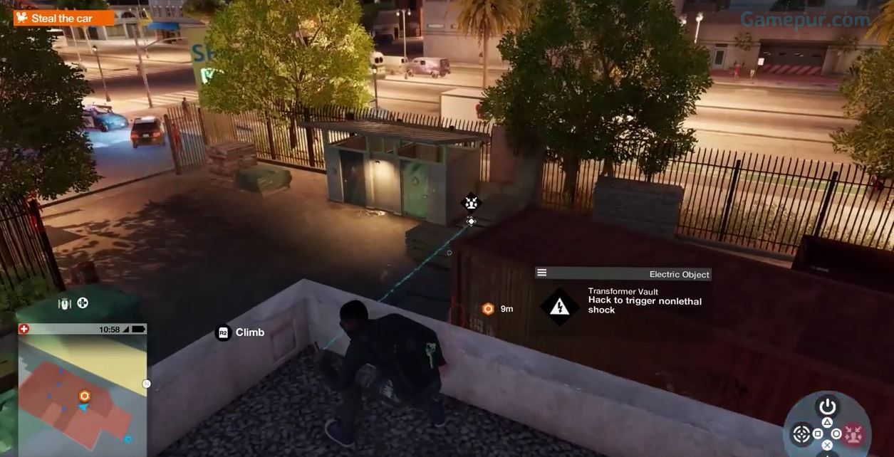 How To Get To Roof Sitara Watch Dogs