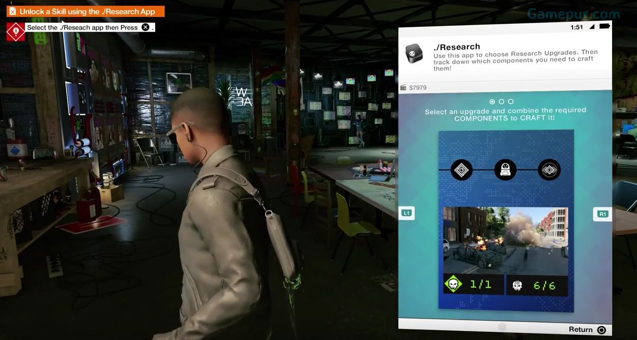 Watch Dogs  Research App