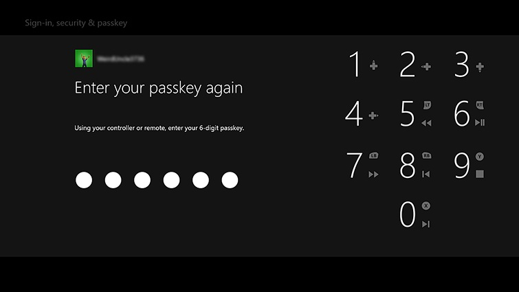 How To Reset Passkey On Xbox One X