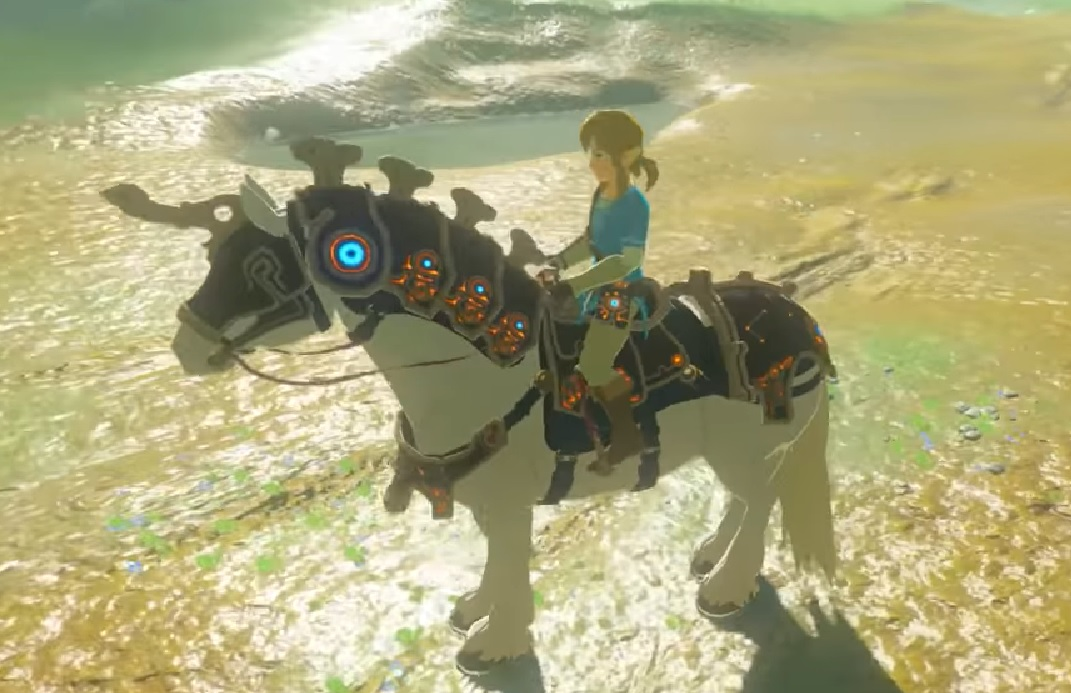 Ancient Horse Gear Location Zelda The Breath Of The Wild Gamepur