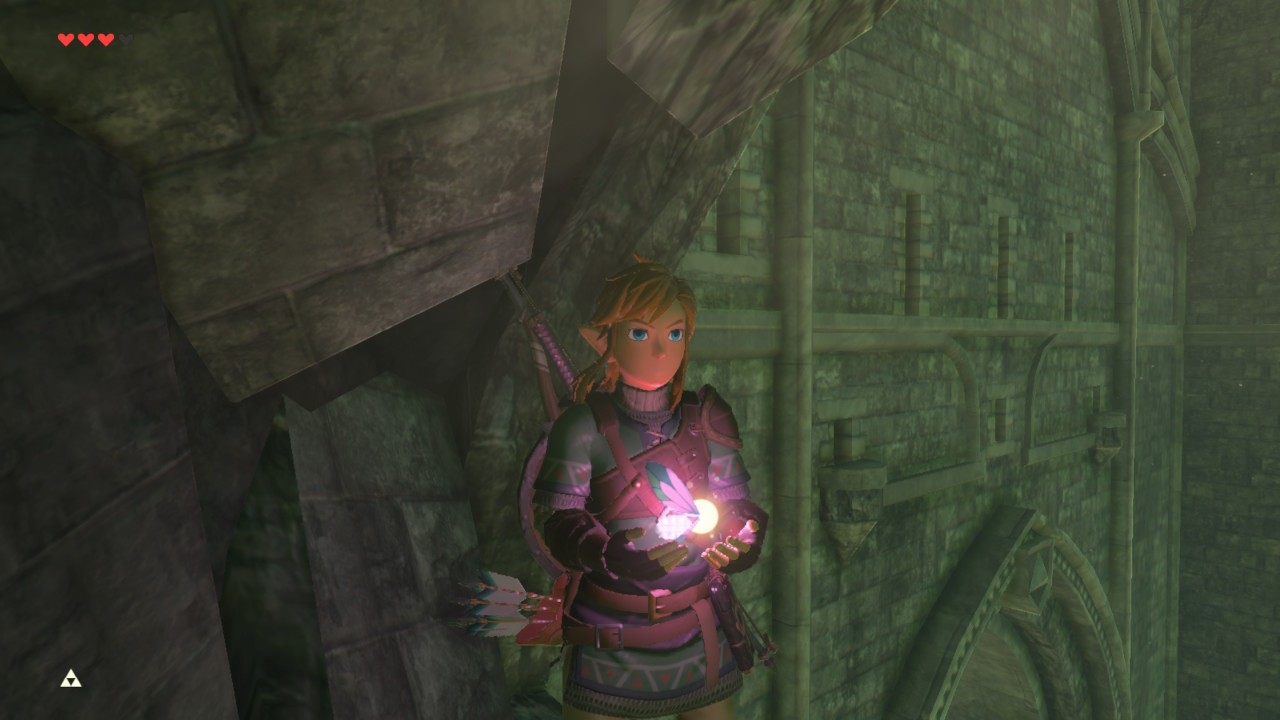 how to activate disable cel shading glitch in zelda