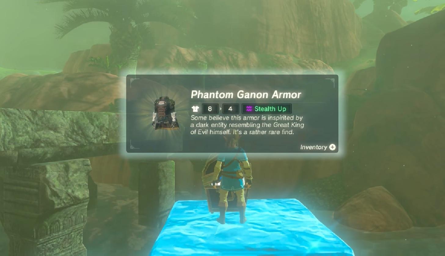 Dark Armor Set Location Zelda Botw Champions Ballad Armor