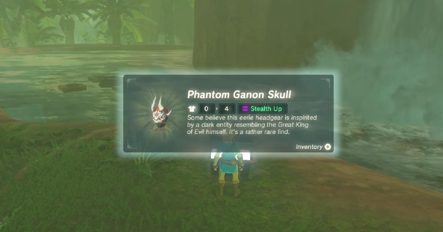 Dark Armor Set Location Zelda Botw Champions Ballad