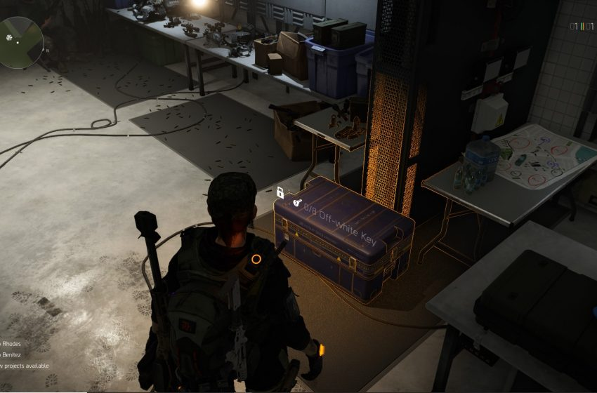 How to find Off-white keys in The Division 2