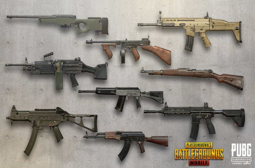The best weapons and attachments in PUBG