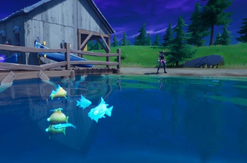 How to fish with explosives in Fortnite Chapter 2 Season 2