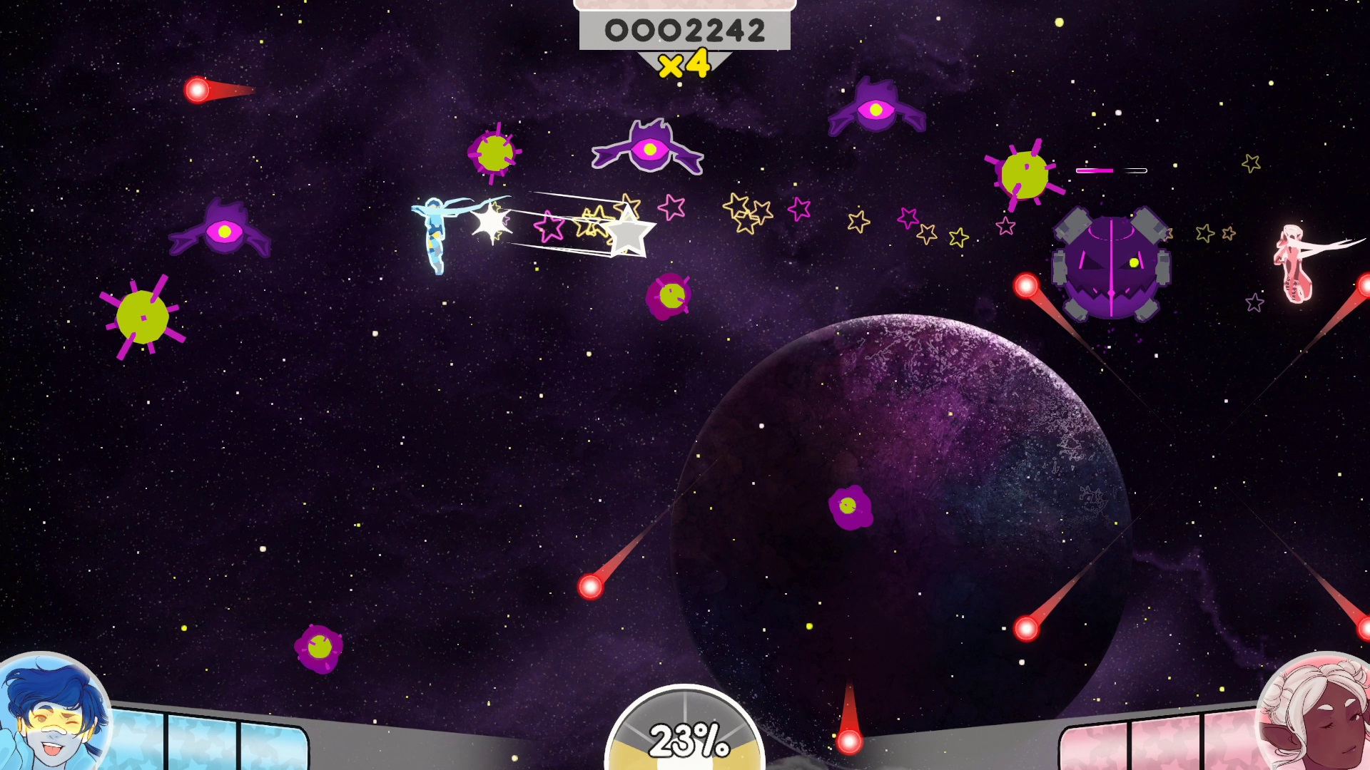 StarCrossed game screen
