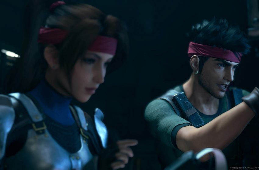 FINAL FANTASY VII REMAKE Jessie and Biggs