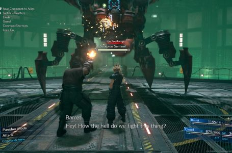 How to stagger enemies in Final Fantasy VII Remake