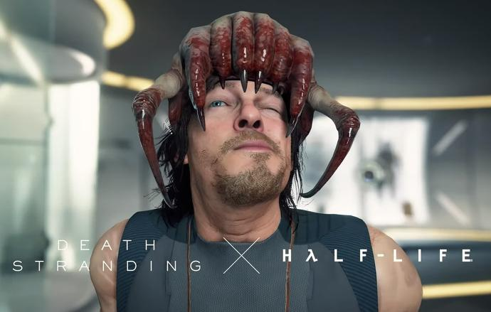 Wear a Head Crab in Death Stranding when it launches on PC