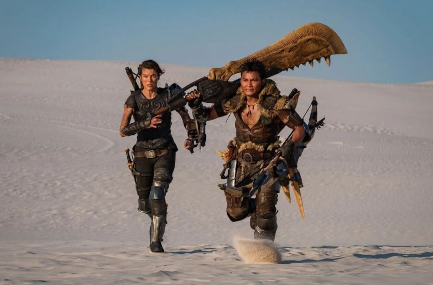 New posters show off gritty, barren setting for Monster Hunter movie