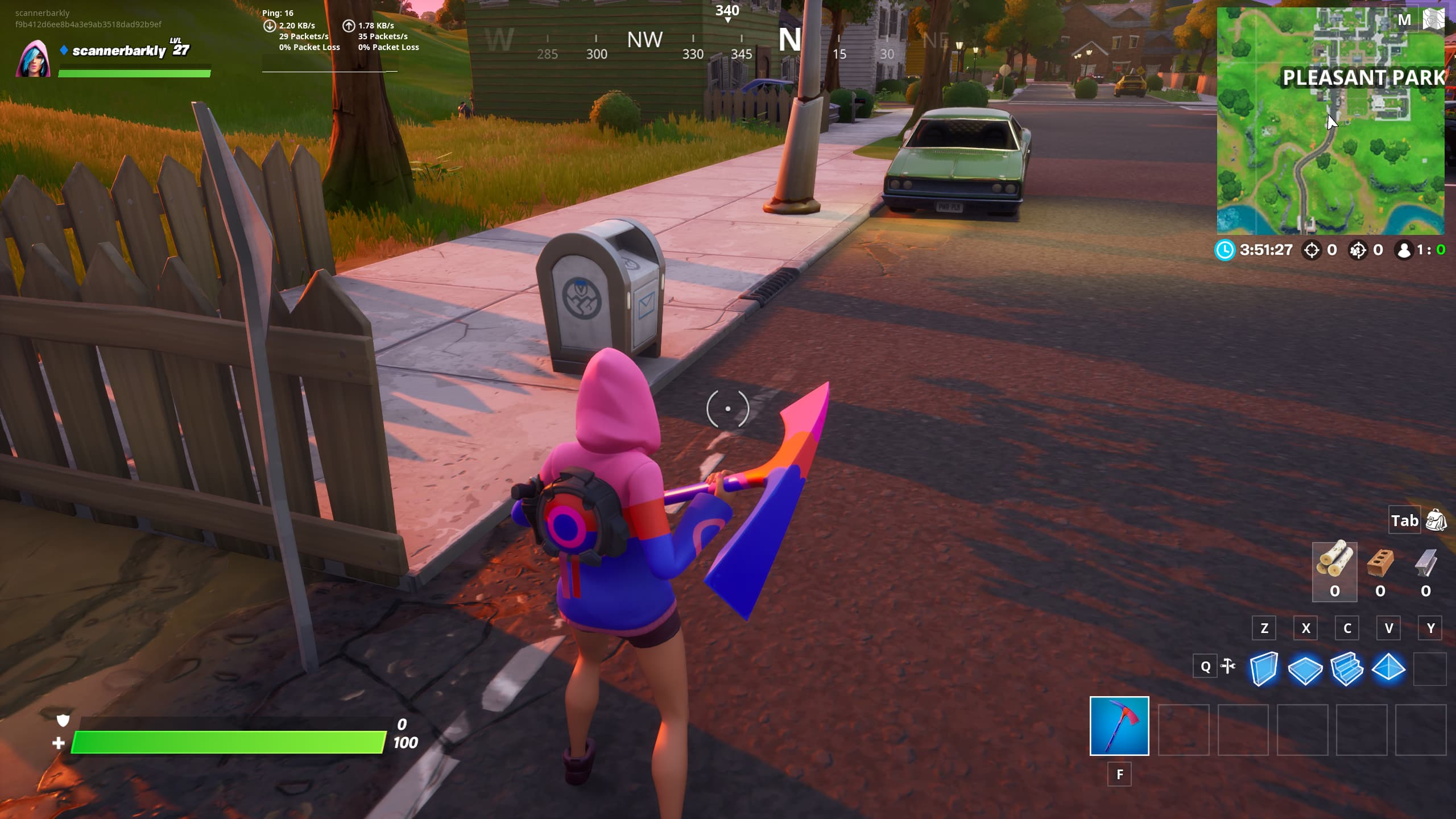 Pleasant Park Ghost