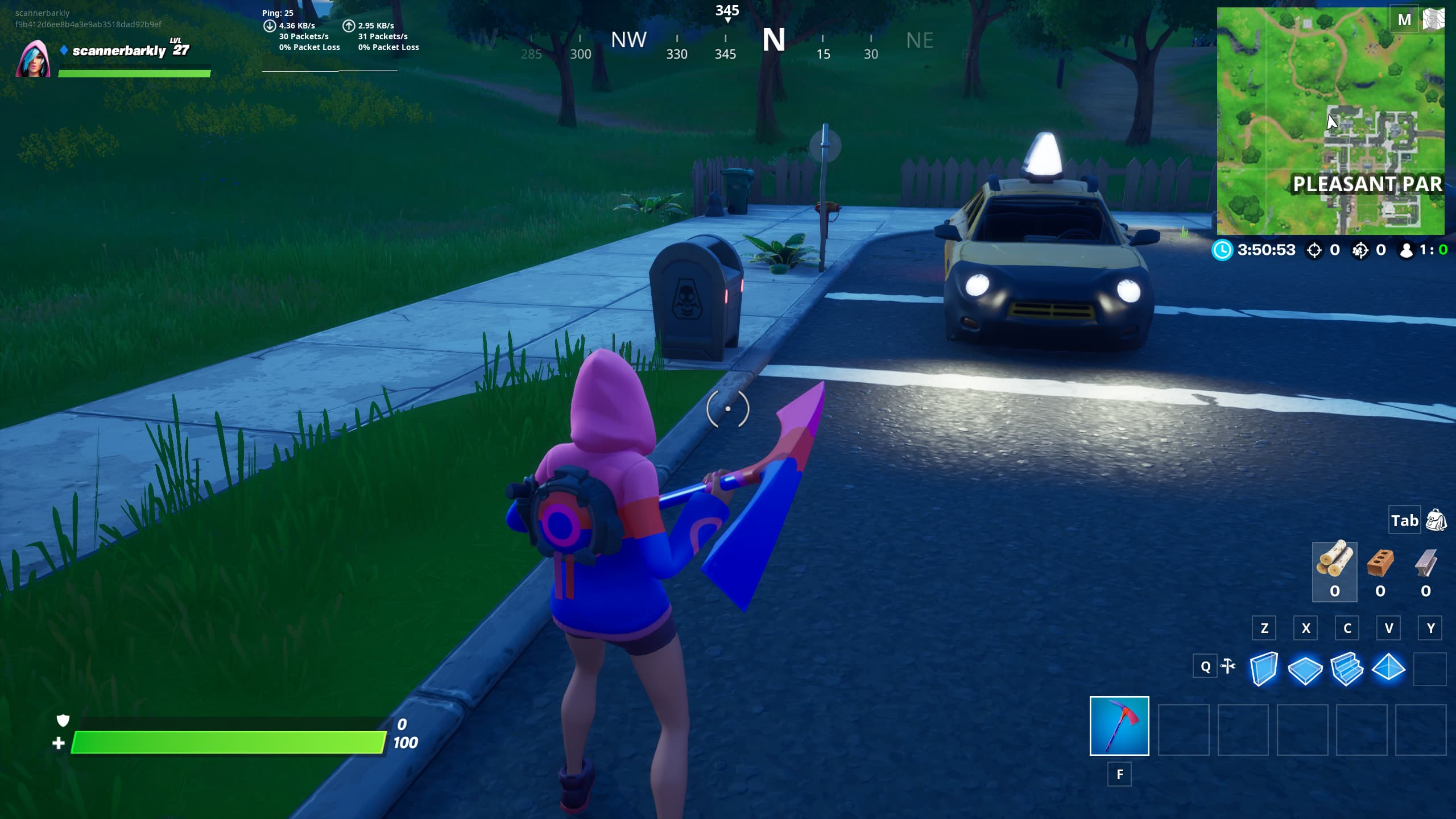 Pleasant Park Shadow