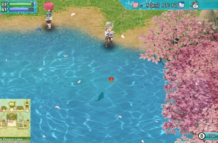 How does fishing work in Rune Factory 4?