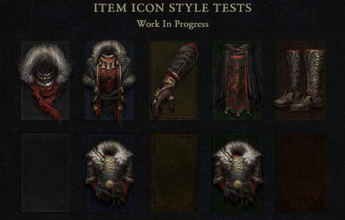 Diablo 4 loot icons