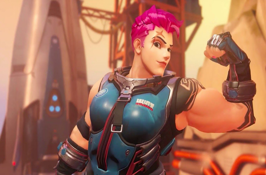 Zarya in Overwatch